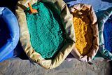 Assortmant of Moroccan colors