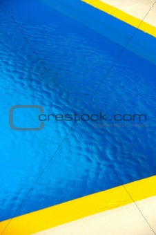 Detail of swimming pool, abstract background