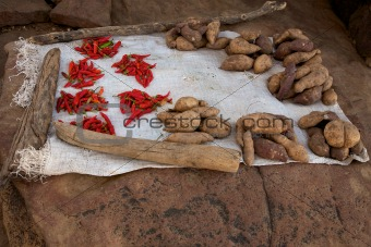 Food in the Dogon Land