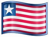 Liberian Flag icon.