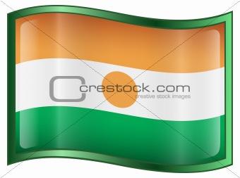 Nigerian Flag icon.