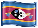Swaziland Flag icon.