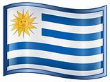 Uruguaian Flag icon.