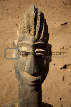 African Mask & artwork