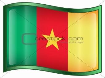 Cameroon flag icon.