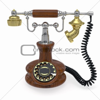Old style telephone