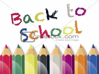 Back to School Color Pencils