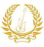 Electro guitar symbol