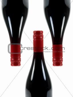 Red Wine Bottles