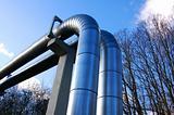 industrial oil pipeline
