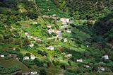 Village on the north coast of Madeira island - Portugal