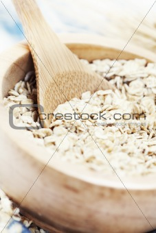 bowl of oats