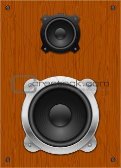 Classic speaker.