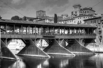 Old bridge of Bassano del Grappa