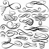 Calligraphic elements