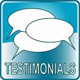blue Button Web icon testimonials