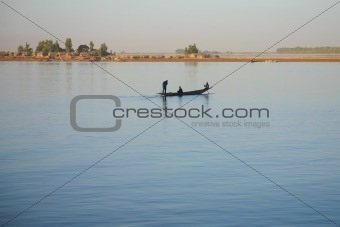 Riverscene on the Niger
