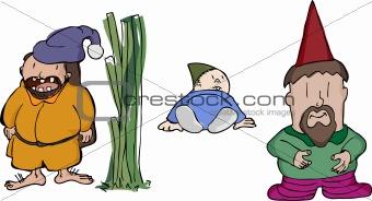 Three Chubby Gnomes