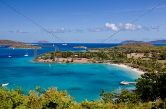 Caneel Bay on St John
