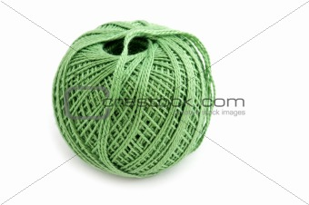 Green Yarn ball macro