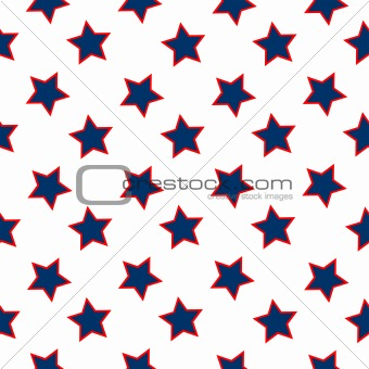 american stars flag pattern