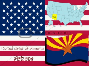 arizona state illustration