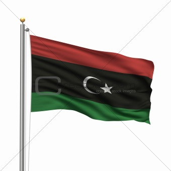 Flag of the Kingdom of Libya