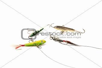 Four Fishing baits