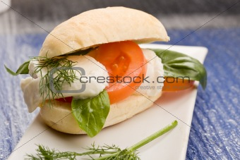Tomatoe Mozzarella Sandwich