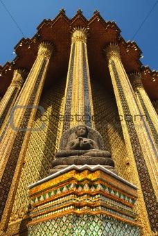 Pra Kaew national palace in bangkok