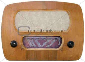 Old radio cutout