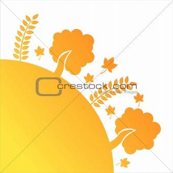 autumn floral illustration
