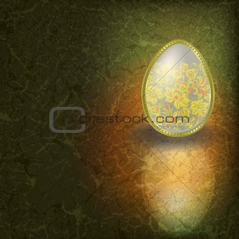 abstract easter illustration
