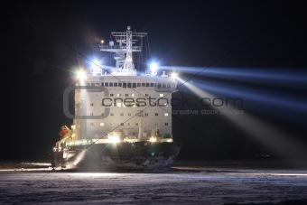 Atomic icebreaker
