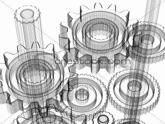 Gears - industrial design concept