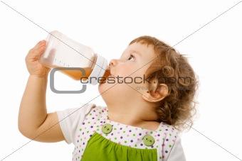 Thirsty girl