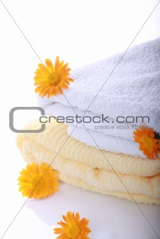 Calendula with terry towels