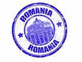 Romania stamp