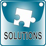 blue web Button solutions