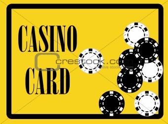 casino card poster