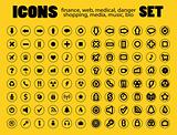Vector Icons  Web, medical, media, shopping and other. Easy To E