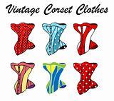 Vintage Corset Clothes, sexy retro lingerie
