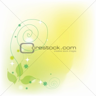 Abstract nature plant background pastel tone