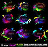 Grunge Bubble Drops Collection