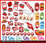 Sale Tags Mega Collection Set 