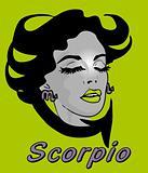 Woman Face Beauty Scorpio Horoscope zodiac seria