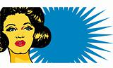 Cool Popart Woman
