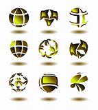 Abstract brand symbols