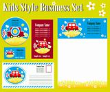 Kids Style Corporate Identity Template