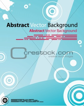 Abstract Blue Background Digital design. Vector Layout